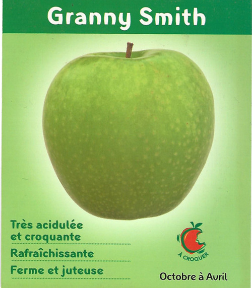 Pommes Granny smith 0