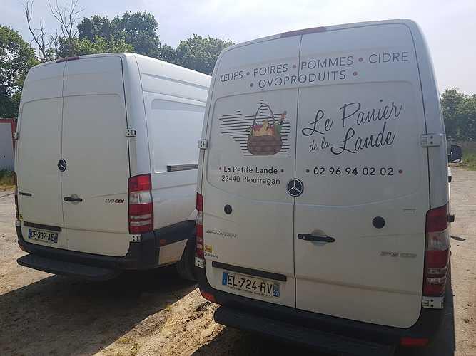 Panier de la Lande - Nouveaux camions ! 0